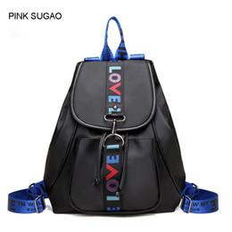 Small waterproof tote bag online shopping - Pink sugao school designer backpacks high quality shoulder backpack school bags for teenage girls waterproof nylon tote bag color