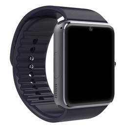 New Watch Touch Screen Australia - Classic Bluetooth Smart Watch Men GT08 With Touch Screen Big Battery Sim Card Camera For IOS iPhone Android Phone