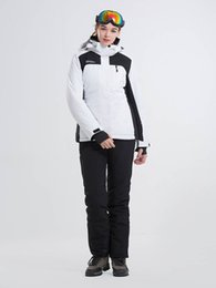 woman s ski suit Australia - 2018 LANLAKA Women Ski Jacket Pant Snowboard Suit Windproof Waterproof Thermal Winter Clothing Female Outdoor Sport Wear Suit