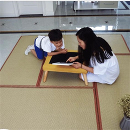 Fold yoga mat online shopping - Folding Japanese Traditional Mat Square Creative Yoga Sleeping Tatami Pad Floor Personality Mould Proof Straw Mats Home sl jj
