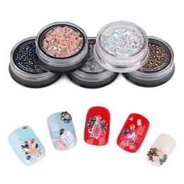 $enCountryForm.capitalKeyWord Canada - 1Box Beauty Tools Chameleon Stone Small Irregular Beads 3D Rhinestone Manicure Nail Art Decoration