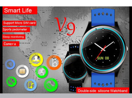 $enCountryForm.capitalKeyWord Australia - V9 smart watch 2017 New Arrival upgrade V8 smartwatch SIM Intelligent mobile phone watch With Camera Sleep state Monitor Men Smart watch