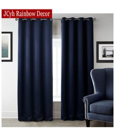 Jrd Modern Blackout Curtains For Living Room Window Curtains For Bedroom Curtain Fabrics Ready Made Finished Drapes Home Decor on Sale