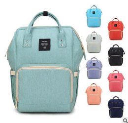 $enCountryForm.capitalKeyWord NZ - Mommy Backpacks Brand Mom Nappies Bags Fashion Mother Backpack Diaper Maternity Backpacks Large Desinger Nursing Outdoor Travel Bags