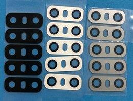 Großhandel 10 STÜCKE Original Neue Zurück Kamera Glaslinse Abdeckung Mit Anhaftender Aufkleber für LG G6 H870 H871 H872 LS993 VS998