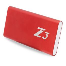 128gb hard drives 2019 - KingSpec 64GB 128GB 256GB 512GB 1TB External Hard Drive Z3 Portable SSD Type-c USB3.1 Interface HDD For Laptop Desktop T