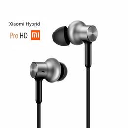 Vente en gros Original Xiaomi Hybrid Pro HD Écouteur En Stock avec Micro À Distance Casque pour Xiaomi Redmi Rouge Mi Téléphone Mobile In-Ear