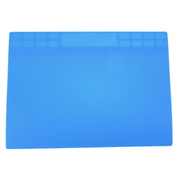 Chinese  Electronic Mat Heat Resistance Soldering Silicone Mat Silicone Heating Pad Repair Station Maintenance Platform 350 X 250 mm manufacturers