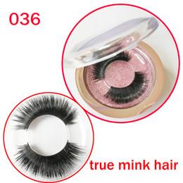 $enCountryForm.capitalKeyWord Canada - True Mink Hair False Eyelashes Soft Handmade Long Full Strips real mink Fake Lashes Eyelashes Extension Beauty Makeup Tools gr146