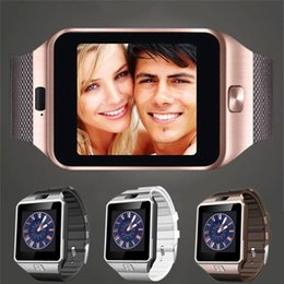 Gsm mobile watches online shopping - Hot sale DZ09 mobile watch phones Support TF Card GSM Call Bluetooth smart watch For Android wrist watch