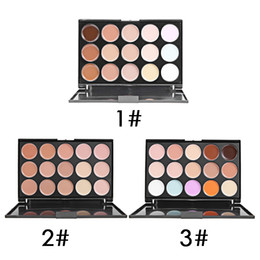 $enCountryForm.capitalKeyWord Canada - 15 Color Makeup Eyeshadow Camouflage Facial Concealer Palette Eye Shadow Professional Concealer Lady Women's free shipping