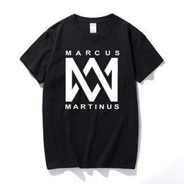 e9a219700 Summer T-Shirt Men Casual Marcus And Martinus T-Shirt Funny Graphic Printed T  Shirts Cotton Short Sleeve Tee Shirt Fitness
