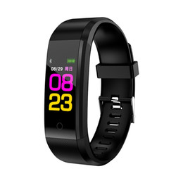 Discount blue water sports - Cicret Wristband Smartwatch Heart Rate Monitor Smartband Watch Pulsometer Sport Health Fitness Bracelet Tracker for IOS