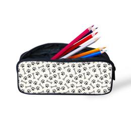 $enCountryForm.capitalKeyWord Australia - American Shortha Pattern Children Bengal Pencil Case Bag Cosmetic Bags for Women Stationery School Supplies Pencil Kids Pen Bags