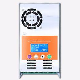 Опт MPPT 60A 50A 40A 30A Солнечный контроллер заряда и разряда 12 В 24 В 36 В 48 В Авто для Макс. 190 В пост. Тока с вентиляцией Герметичный гель Nicd Li