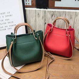 best european phones 2019 - Best selling autumn new retro solid color practical ladies bag large capacity temperament wear multi-purpose handbag che