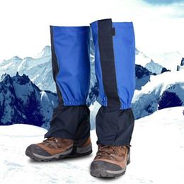 Ingrosso 2018 Unisex Legging Gaiter Leg Leg Impermeabile Camping Escursionismo Scarponi da sci Scarpa da viaggio Caccia da neve Ghette da arrampicata Antivento H5