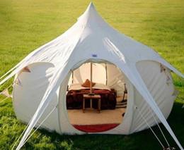 2020 Mew Stijl DanChel Outdoor Beige Khaki Katoen Waterdichte Bell Lotus Tent Snelle verkoop