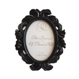 Wholesale Floral Photo Frame Round Frame Picture Holder Wedding Home Decor