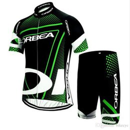 ORBEA equipo Ciclismo mangas cortas jersey (babero) establece 2018 hombres nuevo verano Racing Mountain Bike riding chaqueta cinturón traje de montar delgado C1714