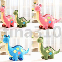 dinosaurs soft toys NZ - HOT Fashion Wholesale Hot Sale Cartoon Dinosaur Creative Plush Toys Doll Dinosaur Cloth Doll Children Birthday Gifts T7I662