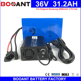 Motor Bicycles Australia - BOOANT 36V 30AH E-Bike Battery pack for Bafang 1500W Motor Electric Bicycle Battery Made of Samsung 18650 36V with 5A Charger