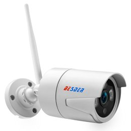 street cameras 2019 - BESDER 2MP Sony IMX323 Wifi IP Camera Outdoor Street Waterproof Wireless Monitor Camera Support SD Card App CamHi discou
