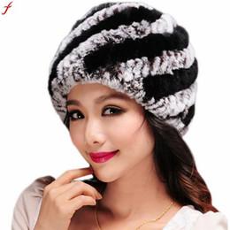 9aeb5e3f24a 2018 Luxury Autumn Winter Women s Faux Rabbit Fur Hat For Women Hats  Handmade Warm Caps Female Headgear Gorros Mujer Invierno