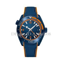 Discount geneva ceramic analog watch - New Geneva Luxury Mens Automatic Mechanical Watches Fashion Ceramic Bezel Top Master Sports Watch For Men