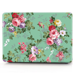 Macbook Retina 13 Inches Australia - FLOWER-5 Oil painting Case for Apple Macbook Air 11 13 Pro Retina 12 13 15 inch Touch Bar 13 15 Laptop Cover Shell