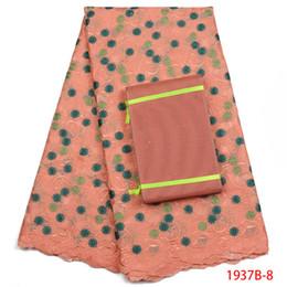 1d06caf2b54ce Baumwollspitze trimmen stoff online-Heißer Verkauf Afrikanische Baumwolle  Schweizer Voilespitzegewebe Mit Trim Steine