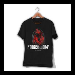 $enCountryForm.capitalKeyWord NZ - Powerwolf Lupus Dei Men T-Shirt Heavy Metal Band Tee Shirt Sabaton Saxon S-Xxl T Shirt Men Man's Creative Short Sleeve Cotton Custom Big