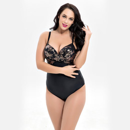 429f8dbf74e54 7XL Large Big Plus Size Swimwear For Women Sexy One Piece Swimsuit 2018  Slimming Female Print Retro Beach Bathing Suit Bodysuit