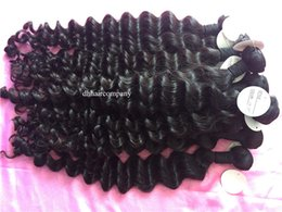 ocean wave hair NZ - Raw Cambodain Virgin hair Ocean Wave 3 Bundles Raw Brazilian Peruvian Virgin Hair Weaves Unprocessed Indian Human Hair Wefts