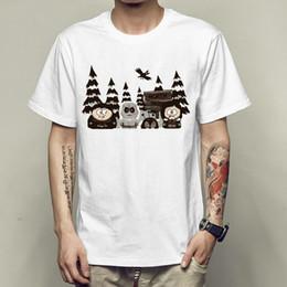 52ef36c3b T Shirt South Park Canada - South park t shirt Funny role short sleeve gown  Cartoon