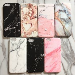 Phone Protective covers online shopping - Stylish Marble Crack Soft TPU IMD Shell Cover For iPhone X P P S P SP Slim Protective Phone Case