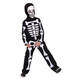 7115ac6331dc Carnival halloween skull skeleton costumes for kids boys boy girls child  children party anime party fancy dress demon