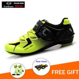 Cycling Australia - TIEBAO Road Cycling Shoes Men Outdoor Sport Bicycle Shoes Self-Locking Professional Racing Road Bike triathlon sneakers