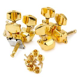 online shopping Guitar Accessories Acoustic Guitar String Semiclosed Tuning Pegs Tuners Keys Machine Heads R L