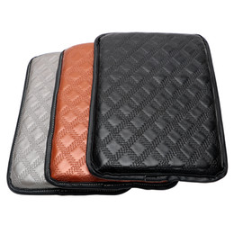 China Automobiles Handrail Box Cover Cushion 3 Colors Interior Parts Car Armrest Pad Universal Auto Care Protection and Decoration suppliers
