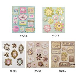 Kids Craft Stamps Australia - Scrapbooking Stamping Craft Paper She Love European Deocrative DIY Adhesive Stickers Photo Album Scrapbooking Decoration Kids Craft