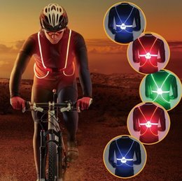 $enCountryForm.capitalKeyWord Canada - With lamp night running night riding color light-emitting reflective vest riding dazzle colour LED reflective safety clothing Adjustable
