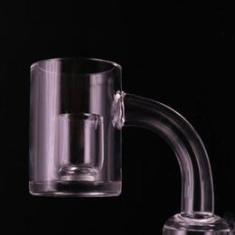 $enCountryForm.capitalKeyWord NZ - High Quality 3mm Quartz Banger Nails 10mm 14mm 18mm Core Reactor Banger OD 25mm 100% real Quartz Honey Bucket Bangers