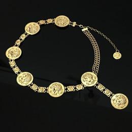 $enCountryForm.capitalKeyWord NZ - Fashion Gold Women Belts Anti Wear Retro Metal Tassel Waistband Non Elastic Force Waist Chain Top Quality 25zl B