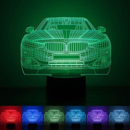 $enCountryForm.capitalKeyWord Canada - Car Modeling Atmosphere Lamp 3d Led Nightlight Festival Lantern Christmas Gift Decoration Supply Glow Accessory Party Favors