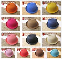 6a0a7c42 BaBy sun Beach hats online shopping - Baby Straw Hat Summer Kids adult Cat  Ear Decoration