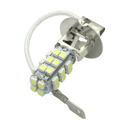 H3 led fog online shopping - 2pcs Car H3 led LED White Fog lamp Driving Light Lamp Bulb k LED auto daytime running light DRL v High Power H1 Auto Lamp