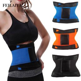 $enCountryForm.capitalKeyWord NZ - Women Waist Trainer Modeling Strap Slimming Belt Weight Loss Body Shaper Sauna Shapewear Cincher Sweet Sweat Corset Hot Shapers