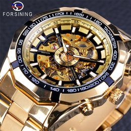 $enCountryForm.capitalKeyWord Australia - Forsining New Men Gold Watch Classic Luxury Automatic Mechanical Man Sport Watches Skeleton Designer Fashion Brand Casual Watches For Mens