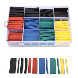 Heat Shrink Tubing Wire Wrap Australia - 530pcs Heat Shrink Tubing Insulation Shrinkable Tube Assortment Electronic Wrap Wire Cable Sleeve Wrap Wire Cable Sleeve Kit